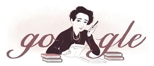 Hari lahir Hannah Arendt ke-108