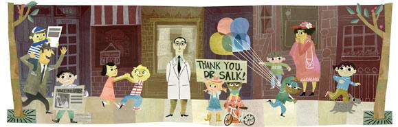 Hari lahir Jonas Salk ke-100