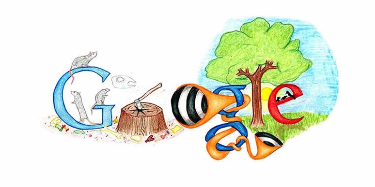 Doodle 4 google for Google cuisine